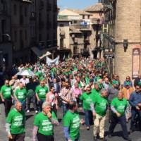 Fotos manifestación en Toledo