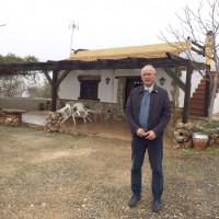 Paco Casero, fundador del SOC, en lucha por los derechos de los agricultores
