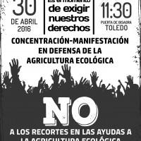 Vente a la manifestación del Sábado en Toledo