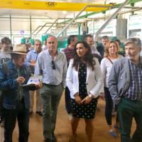 Presentación del Aceite Ecológico en la Cooperativa San Vicente de Mogón